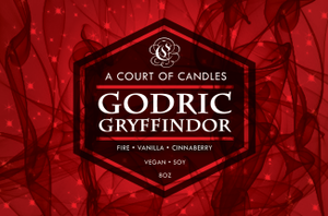 Godric Gryffindor - Soy Candle - Candles