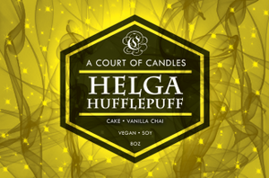 Helga Hufflepuff - Soy Candle - Candles