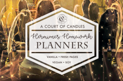 Hermione's Homework Planners - Soy Candle