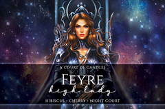 Feyre High Lady - Special Edition - Soy Candle