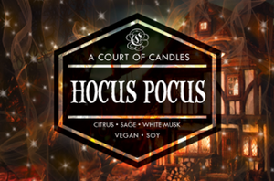 Hocus Pocus - Soy Candle - Candles