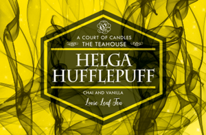 Hogwarts House Teas - Loose Leaf Tea - Hufflepuff - 3Oz Tin (~23G) - Tea
