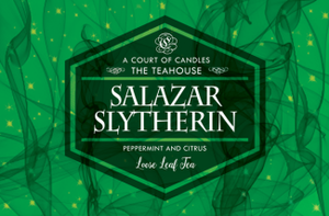 Hogwarts House Teas - Loose Leaf Tea - Slytherin - 3Oz Tin (~23G) - Tea