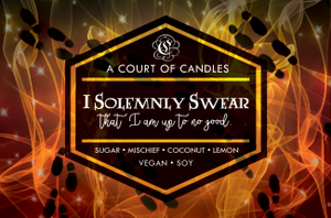 I Solemnly Swear - Soy Candle - Candles