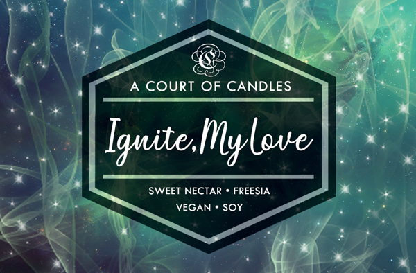 Ignite, My Love - Soy Candle