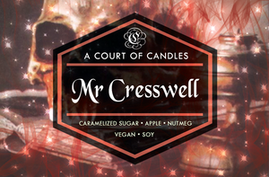Mr Cresswell- Soy Candle