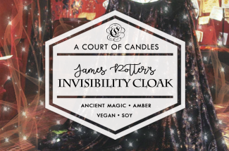 James Potter's Invisibility Cloak - Soy Candle