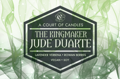 Jude Duarte The Kingmaker - Soy Candle