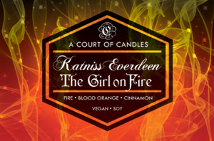 Katniss Everdeen - Soy Candle - Candles