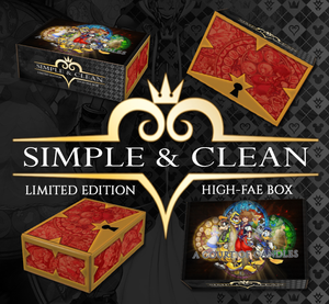 Simple & Clean (Kingdom Hearts) - Limited Edition Box