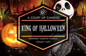 King Of Halloween - Soy Candle - Candles
