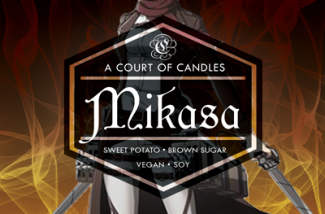 Mikasa - Soy Candle