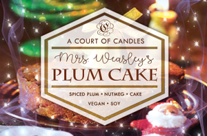 Mrs. Weasleys Plum Cake - Soy Candle