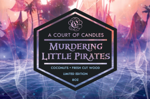 Murdering Little Pirates - Soy Candle