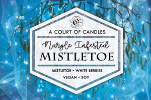 Nargle Infested Mistletoe - Soy Candle