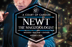 Newt The Magizoologist - Soy Candle