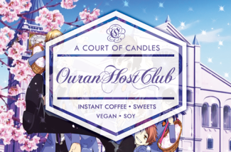 Ouran Host Club - Soy Candle