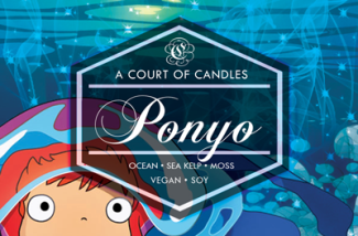 Ponyo - Soy Candle - Candles
