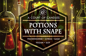 Potions with Snape - Soy Candle