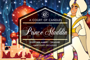 Prince Aladdin- Fairyloot Excl - 9Oz Glass Jar