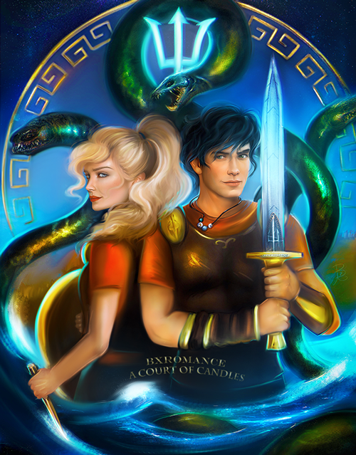 Art Print - Percy & Annabeth - ACOC Exclusive
