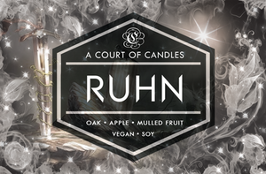 Ruhn - Limited Edition Soy Candle