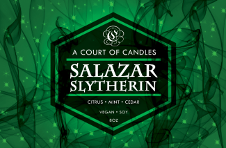 Salazar Slytherin - Soy Candle