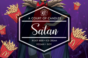 Satan - Soy Candle - Candles