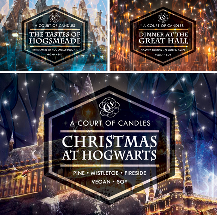 CHRISTMAS AT HOGWARTS - *Holiday Charity Candles* - A Court of Candles