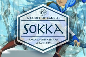 Sokka - Soy Candle - Candles