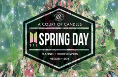 SPRING DAY [BTS]  - Soy Candle