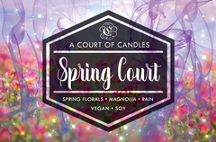 Courts of Prythian (8 Variations) - Soy Candle