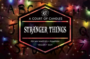 Stranger Things - Soy Candle - Candles