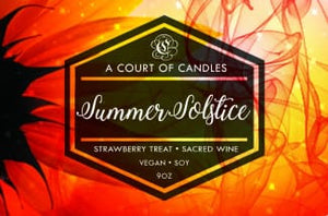 Summer Solstice - Soy Candle