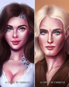 Throne Of Glass Character Bookmarks