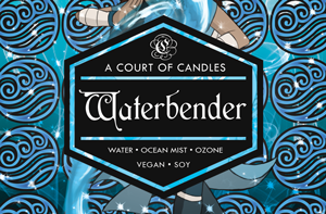 Waterbender - Soy Candle