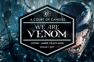 We Are Venom - Soy Candle
