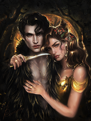 Art Print - High Queen & King of Faerie