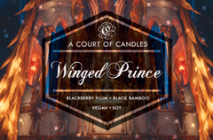 Winged Prince (Sartaq) - Soy Candle