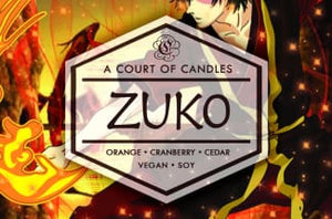 Zuko - Soy Candle - Candles