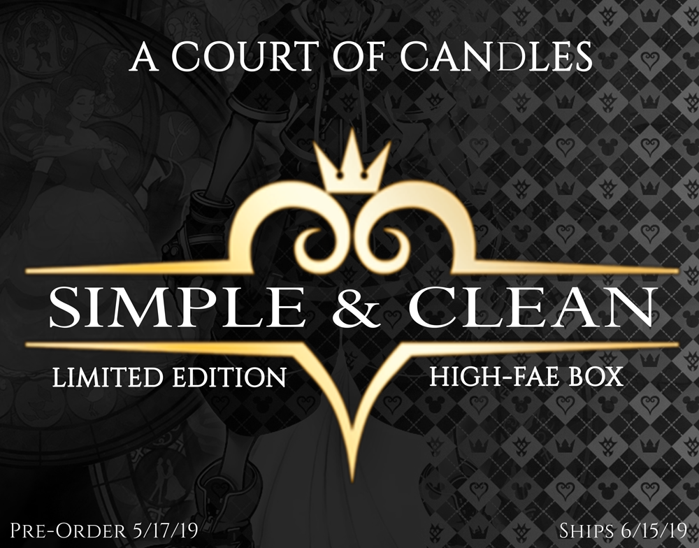 Simple & Clean - Kingdom Hearts High-Fae Box (Pre-Order 5/17 | Ships 6/15)