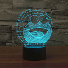 Doraemon Inspired 3D Optical Illusion Lamp - 3D Optical Lamp