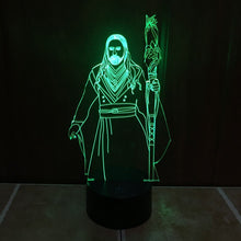Warcraft Inspired Medivh 3D Optical Illusion Lamp - 3D Optical Lamp