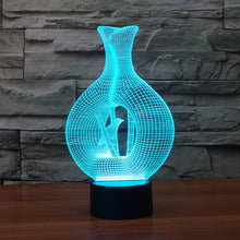 Realistic Cageling 3D Optical Illusion Lamp - 3D Optical Lamp