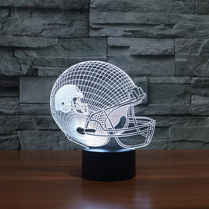 NFL Cleveland Browns Inspired 3D Optical Illusion Lamp - 3D Optical Lamp