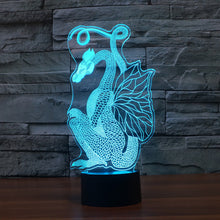 European Traditional Dragon 3D Optical Illusion Lamp - 3D Optical Lamp