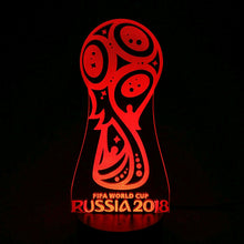2018 FIFA World Cup 3D Optical Illusion Lamp - 3D Optical Lamp