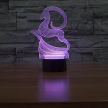 Stoic Night Time Elk 3D Optical Illusion Lamp - 3D Optical Lamp
