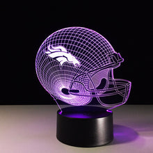 Denver Broncos 3D Optical Illusion Lamp - 3D Optical Lamp