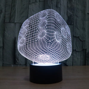 Realistic Dice 3D Optical Illusion Lamp - 3D Optical Lamp